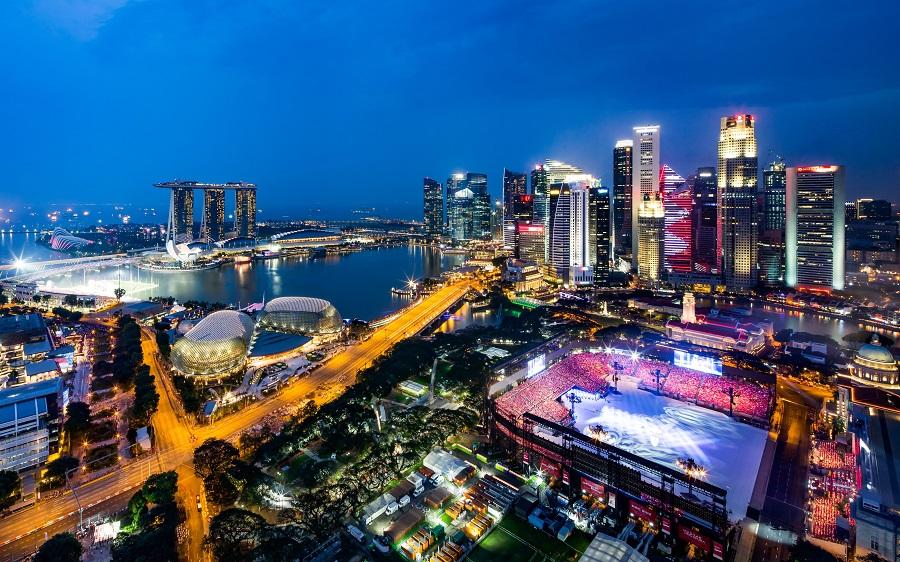 Singapore night view - Сингапур. Как получить 63 бесплатных услуги
