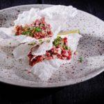 Tartar iz govyazhego kostreca pikantnyj s risovymi chipsami 150x150 - Сет МГФ Крабоlove