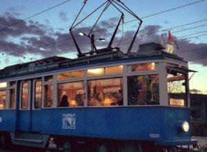 Цюрих. Трамвай-фондюшная