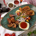 shashlyk telyatina 150x150 - Teplii salat s osminogom po-logyriiski