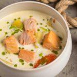 Sup s lososem molokom i ukropnym maslom 150x150 - Тарт мята и шоколад