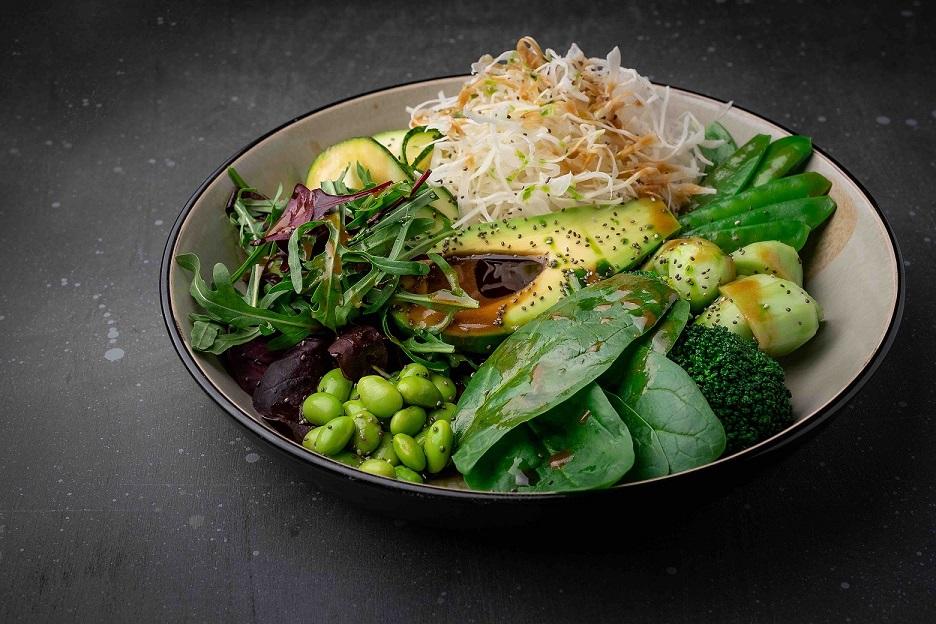 Green salad avocado small Remy - Великий пост.Что пробовать в ресторанах