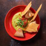 Humus iz zelenogo goroshka Drinks Dinners 150x150 - ЦДЛ _ Тофу с морковным хумусом