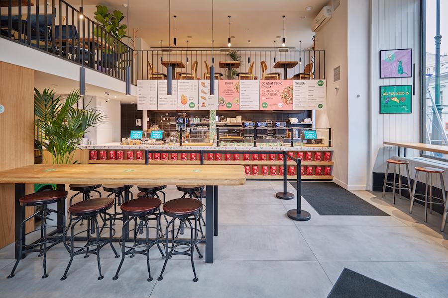 Zotman interier 3 - Ресторан на диване