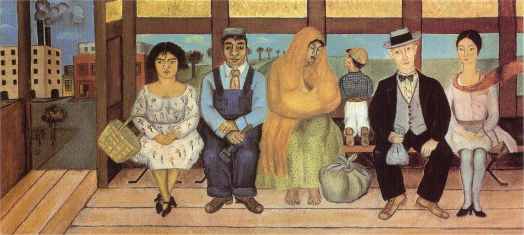 the bus 1929 1024x460 - Фрида Кало. Viva la Vida