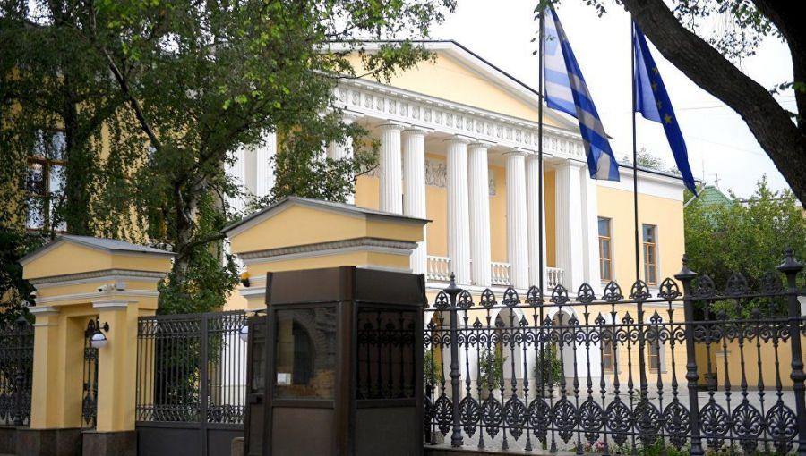 zagruzhennoe - Дом в Леонтьевском. Здание греческого посольства