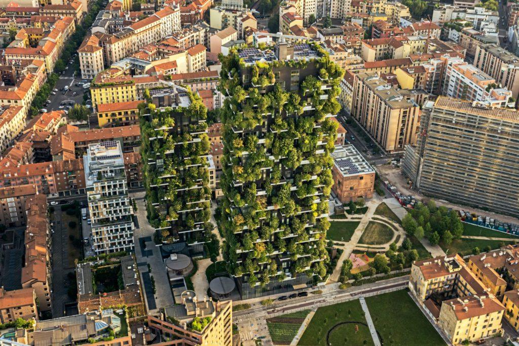 c Boeri Studio Vertical Forest ph.Dimitar Harizanov Milan Italy.1574841279.0467 1024x683 - Bosco Verticale. Весь покрытый зеленью