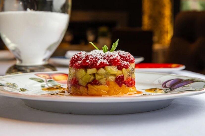 fruits tartar - Москва. Летнее меню ресторанов