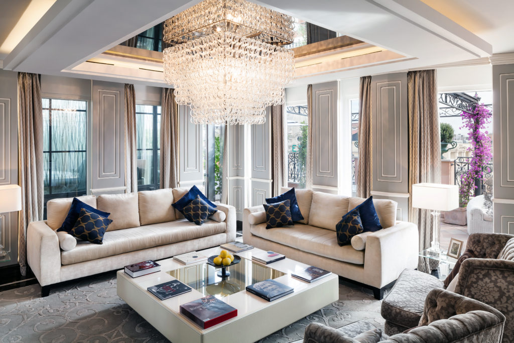 ROME Baglioni Hotel Regina Top Images Roman Penthouse Roman Penthouse living2 Baglioni Hotel Regina 1024x683 - Рим. Со всеми удобствами
