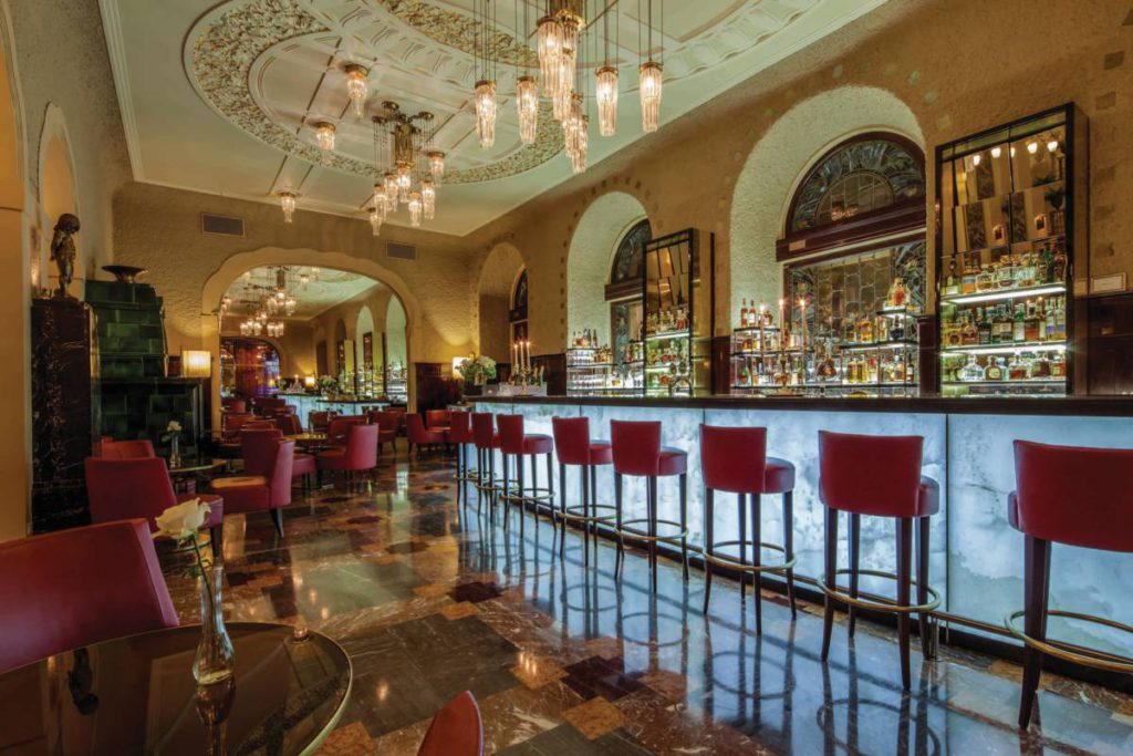 BGHE Lobby Bar 1 1024x683 - Гранд Отель Европа. Бархатное предложение