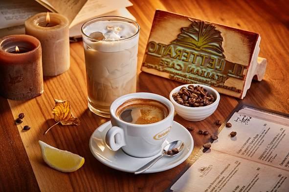 IL Letterato coffe i literatura - Москва. Осеннее меню ресторанов