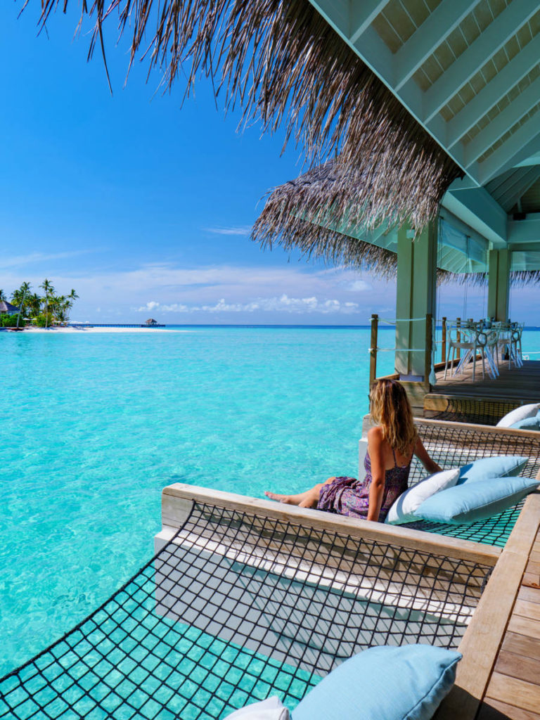Baglioni Resort Maldives IMAGES 3. FB Baglioni Resort Maldives Umami Hammock Vertical 768x1024 - Baglioni Resort Maldives. Новое меню для гурманов