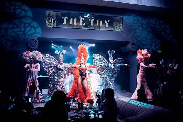 TheToy Show - Москва. Праздничное меню ресторанов