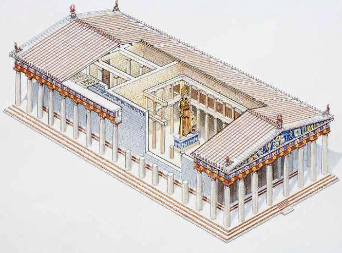 9U1XIch9 no - Афины. Как построен Парфенон