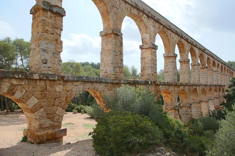 Akveduk Ferreres Most Dyavola - Таррагона. Чертов мост