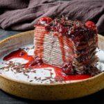 SHokoladnyj blinnyj tort s vishnyovym zhele 6 150x150 - Hands_Блины с рикоттой и морепродуктами