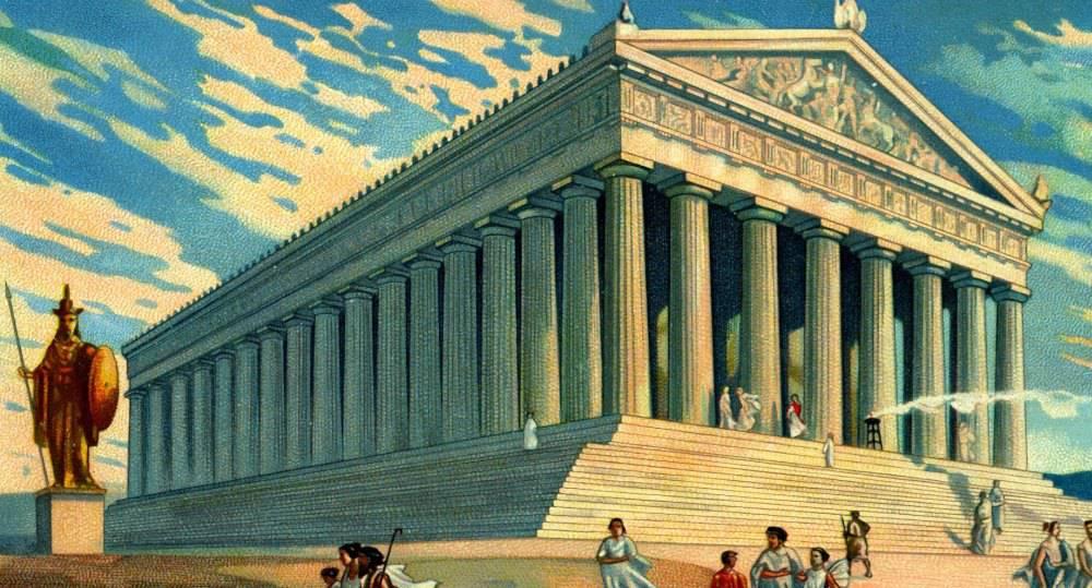 parthenon temple 2 - Афины. Как построен Парфенон