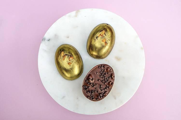 shokoladnye yajtsa - Пасхальный стол. Где купить куличи