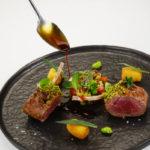 Carr di agnello al forno alla provenzale croquette di patate favette e battuto sardo 150x150 - Chef Claudio Sadler