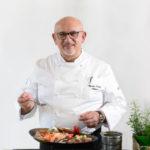 Chef Claudio Sadler 150x150 - Carrè di agnello al forno alla provenzale, croquette di patate, favette e battuto sardo