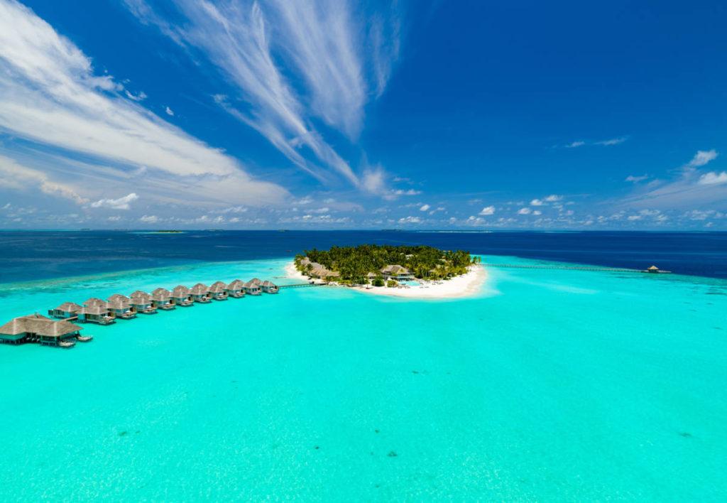 Baglioni Resort Maldives Aerial Island 13 1024x708 - Baglioni Resort Maldives. Новые категории вилл