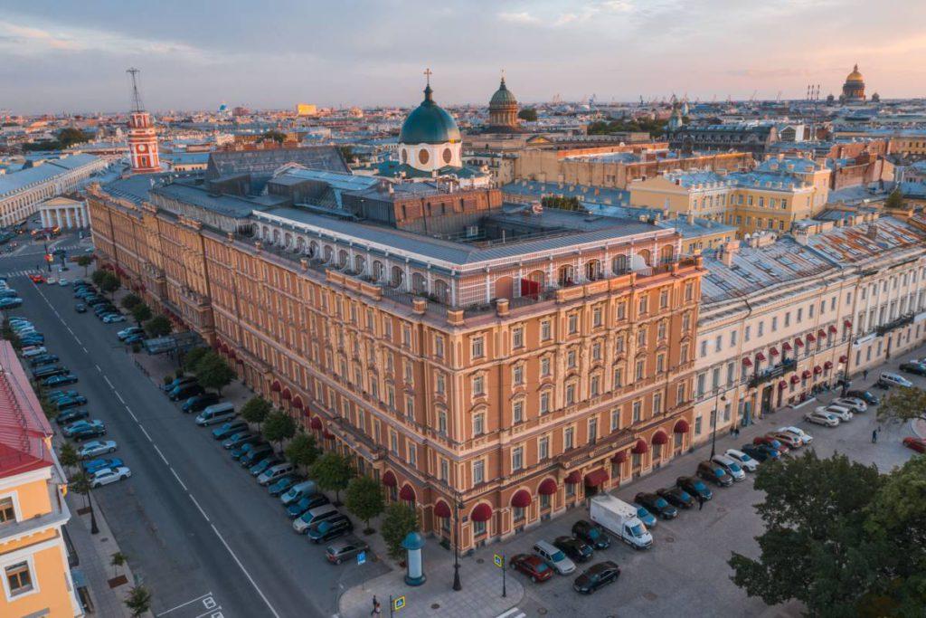 GHE facade drone 1024x683 - Санкт-Петербург. Открытие театрального сезона
